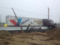 Tractor-Trailer Truck Crash Causes Huge Delays on 417