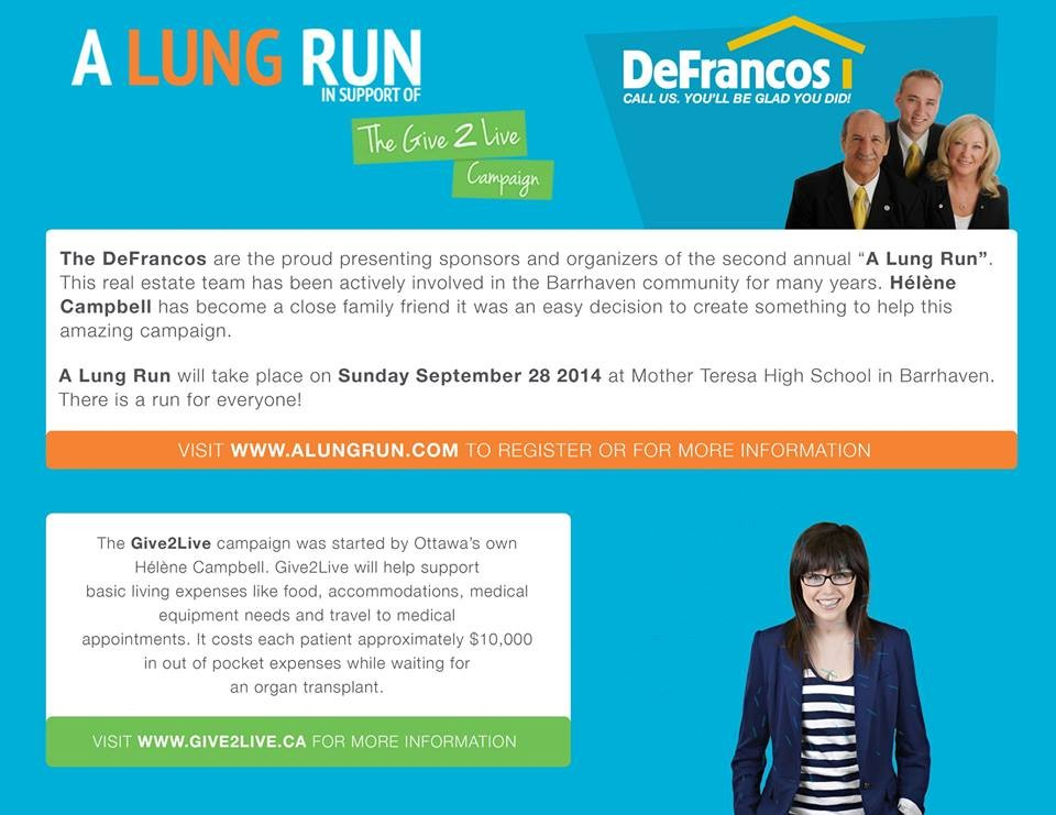 A Lung Run Info