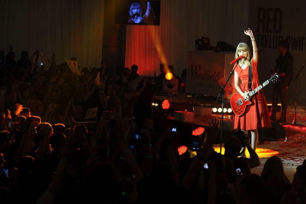 Taylor Swift with Guitar