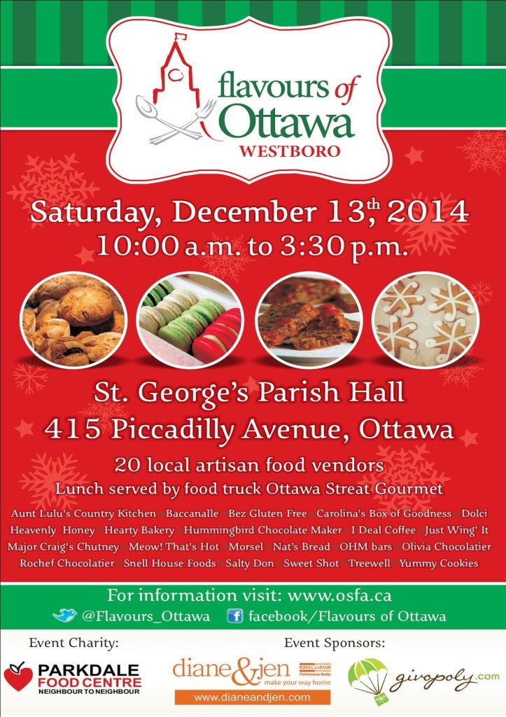 Flavours of Ottawa Poster