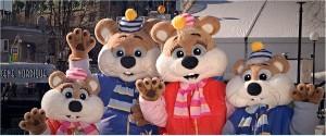 Winterlude Mascots