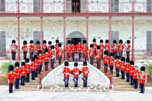 gg foot guards band