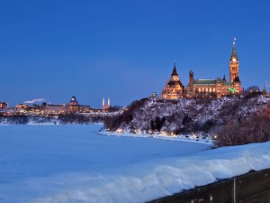 Parliment winter
