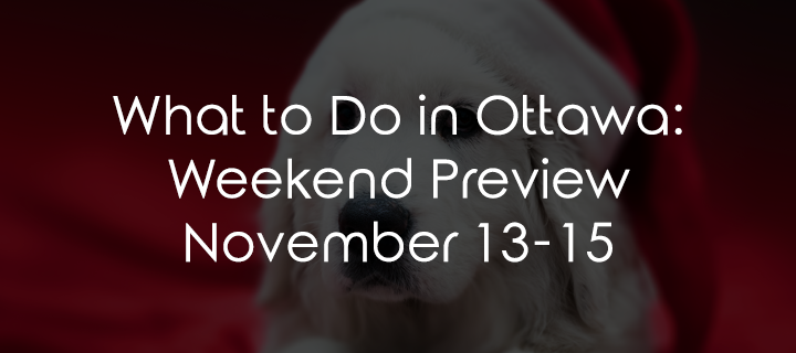 What to Do in Ottawa: Weekend Preview November 13-15