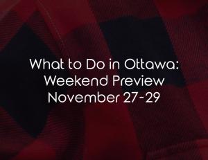 what to do ottawa nov