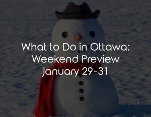 what to do ottawa jan