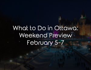 what to do ottawa february