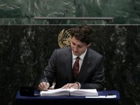 """Prime Minister Trudeau Surges Ahead with His """"Out of Town"""" U.N. Publicity Campaign"""