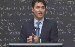 trudeau money does not grow on trees