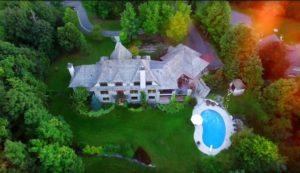 02-1 41 Davidson Drive Beacon Hill Ottawa aerial pool