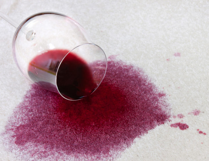 Get out That Red Wine Stain – No Fuss No Hassle