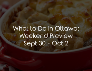 ottawa weekend sept