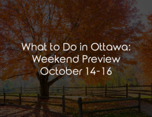 ottawa weekend october