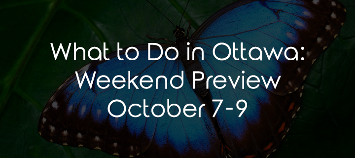 What to Do in Ottawa: Weekend Preview October 7-9