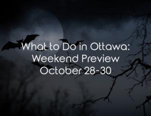 weekend ottawa halloween