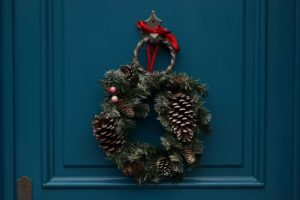 Decorate with wreaths