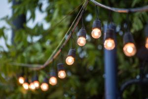 backyard patio lights