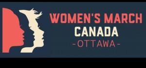 Womens March Ottawa Canada