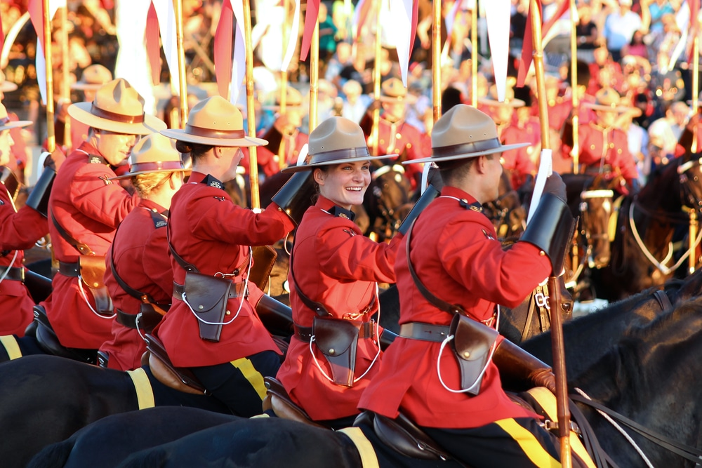 RCMP Musical Ride Open House Ottawa